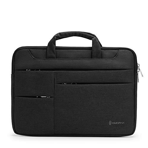 Omnpak Funda protectora para MacBook Pro, 360 portátil, para MacBook Air, MacBook Pro Touch Bar 2016-2020, MacBook Pro Retina 2012-2015, Surface Book 3 2, color negro