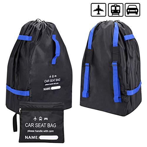 LLVV Draagbare Auto Stoel Reistas voor Baby Kind Zwart Auto Veiligheid Stoel Stofbescherming Cover Tas Reizen Kinderwagen Tas