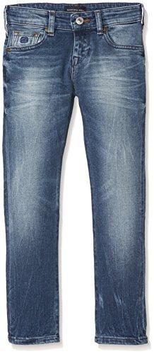 Scotch & Soda Shrunk Jungen NOS-Strummer Jeans, Blau (Meeting Point 732), 158 (Herstellergröße: 13)