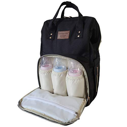Fastique Kids® Babyluierrugzak, multifunctionele waterdichte luiertas, grote rugzak, reistas met veel opbergruimte