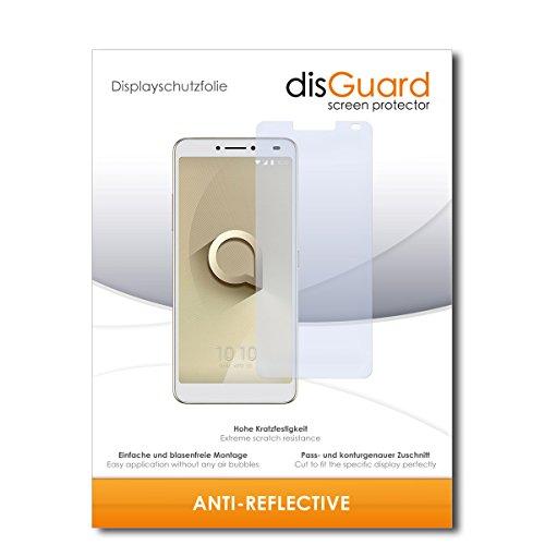 disGuard® Bildschirmschutzfolie [Anti-Reflex] kompatibel mit Alcatel 3V [2 Stück] Entspiegelnd, Matt, Antireflektierend, Extrem Kratzfest, Anti-Fingerabdruck - Panzerglas Folie, Schutzfolie