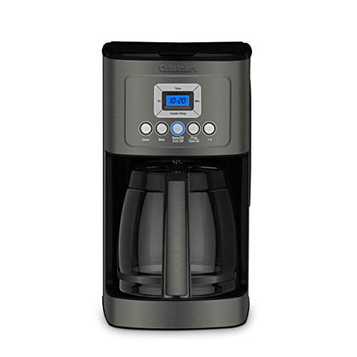 Cuisinart DCC-3200BKS1 Perfectemp CoffeeMaker Coffee Maker, 14 Cup, Black Stainless Steel
