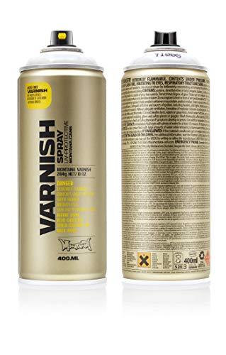 Montana Varnish Spray T1005 - Transparent Varnish Semi-Gloss