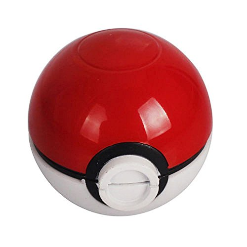 HIBRON Grinder Pokemon Picador Pokeball Spice Mill 3 Piezas 2 Pulgadas trituradora
