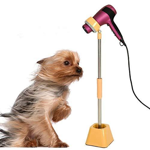 Pet Dog Hair Dryer Stand Hands Free Hair Dryer Holder Dog Cat Blower Floor Mount Stand Hair Dryers & Accessories