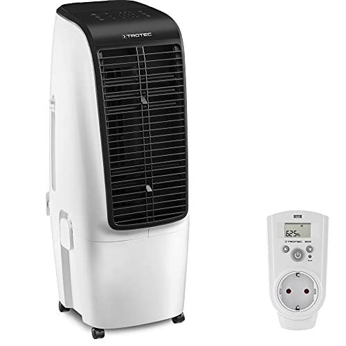 TROTEC PAE 51 Aircooler, mobiles Klimagerät 4 in 1 + Steckdosen-Hygrostat BH30