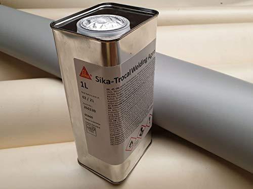 Quellschweißmittel Sika 1 Liter, für PVC Teichfolie kleben, Sika-Trocal Quellschweißmittel