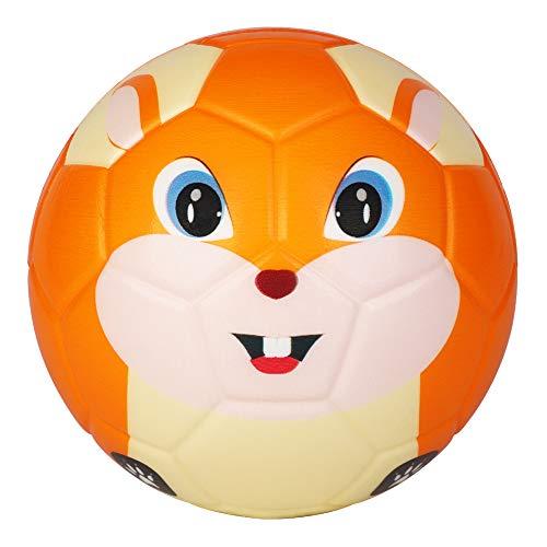 BORPEIN Ballon de Football Pro Mini, Ballon de Mousse de Sty