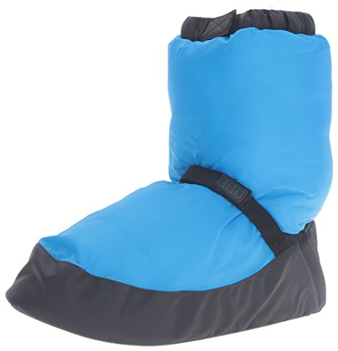 Bloch Warm up Bootie Dance Shoe, Blue Fluro, Medium