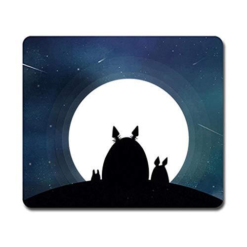 SUMHOM Alfombrilla de ratón de Dibujos Animados My Neighbor Totoro, Alfombrilla de Oficina con costura-25_260X210X3mm