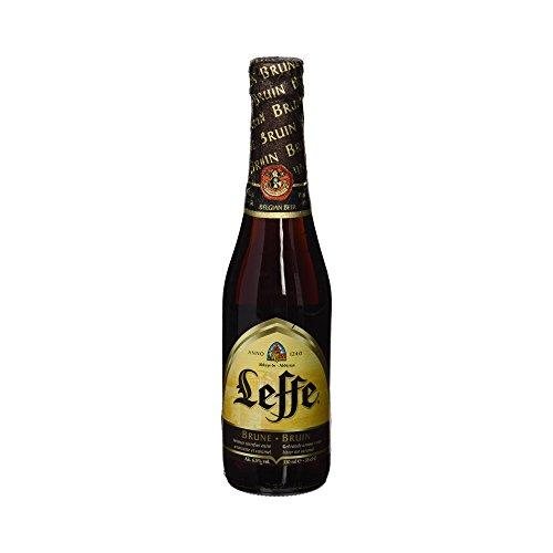 Cerveza Leffe Brune, 6.5%, 0.33 l x 6 unidades