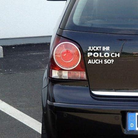 Speedwerk Motorwear I Love My Polo 6r Sticker Kompatibel Mit Vw Baujahr 2009 2014 Auto