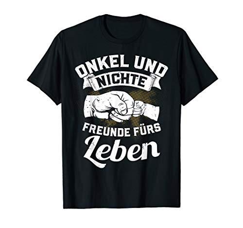 Onkel und Nichte Freunde fürs Leben Bester Bruder Geschenk T-Shirt