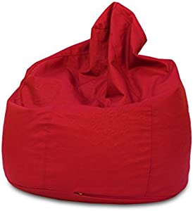 KAWIN Shopping on line Pouf Poltrona pera puff puf Ecopelle - ROSSO