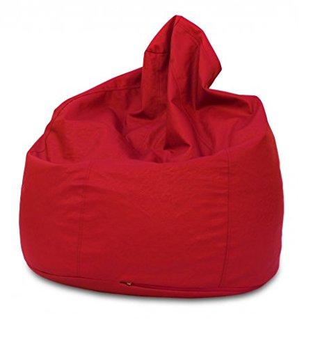 KAWIN Shopping on line Pouf poire en cuir synthétique - Rouge