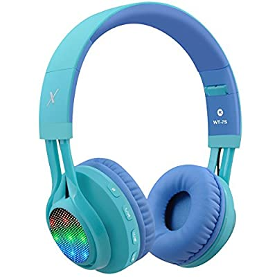 Amazon Promo Code for WT7S Bluetooth Headphones LED Light Up Wireless Foldable 09102021122620