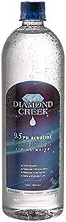 Diamond Creek 9.5pH Alkaline Ionized Spring Water, 1 Liter Bottles (12pk)