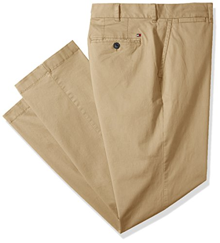 Tommy Hilfiger Men's Big and Tall Classic Fit Stretch Chino Pants, Mallet, 56X30