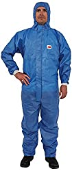 3M 4532 + B3X protective suit, type 5 / 6, size 3XL, blue with light blue back panel