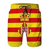 Xunulyn Pantalones Cortos de Playa para Hombre Pantalones Cortos de Surf a la Moda Traje de baño...