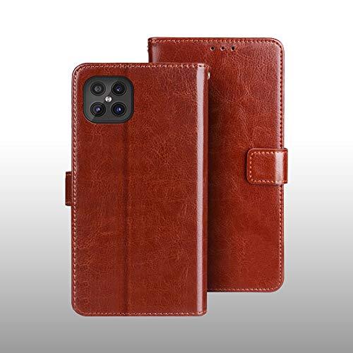 SWMGO® Flip Wallet Case Compatible for Cubot C30(Pattern 8)
