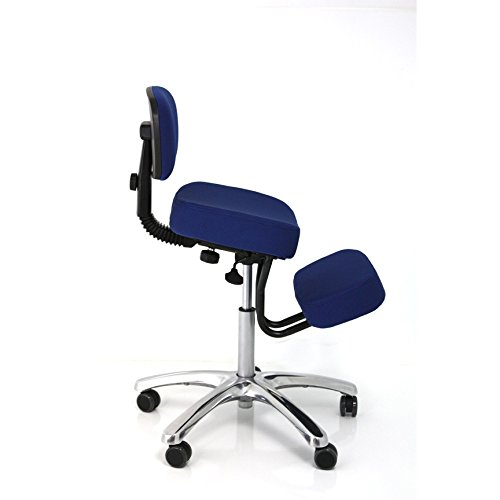 BetterPosture Jazzy Kneeling Chair – Multifunctional Ergonomic Posture Kneeling Chair Helps Reduce Back and Neck Strain