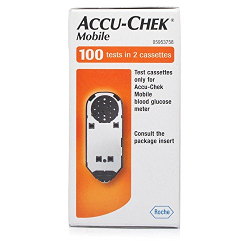 Preisvergleich Produktbild Accu-Chek Mobile Test Cassettes 100