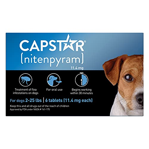 Capstar Fast-Acting Oral Flea Treatment Dogs