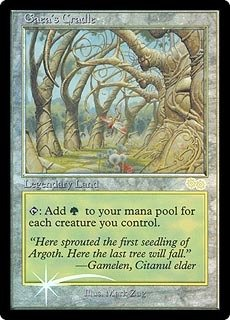 Magic The Gathering - Gaea39;s Cradle Foil - DCI Judge Rewards - Judge Promos - Foil