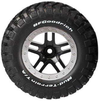 295885 - TRAXXAS 5885- Räder,(2)Reifen-BFG,sw.,Felge