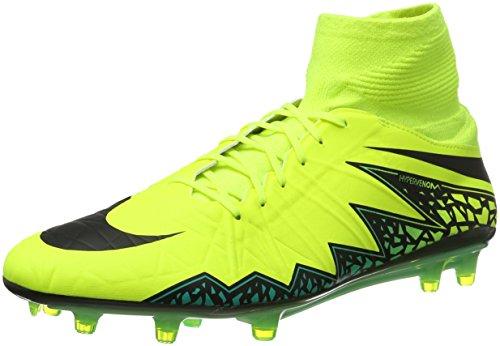 Nike Herren Hypervenom Phatal II DF FG Fußballschuhe, Amarillo (Amarillo (Volt/Black-Hyper Turq-CLR Jade)), 40 EU