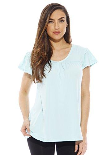 Just Love 6061-L Women Pajama Tops - Mix & Match PJs - Sleepwear