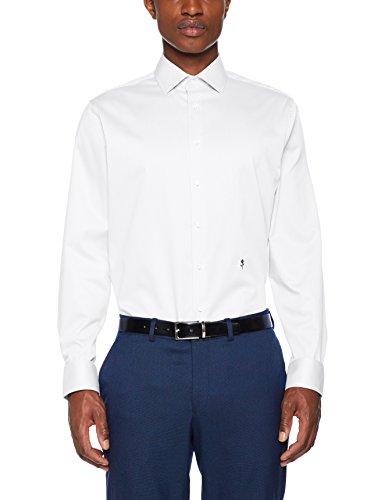 Seidensticker Herren 246470 Businesshemd, Weiß (Weiß 1), 42