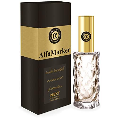 Alfamarker Pheromone Perfume Spray for Women to Attract Men Female Perfume Concentrated Formula Womens Long Luxury Scent Inside 20 ml Feromonas para Atraer Hombres