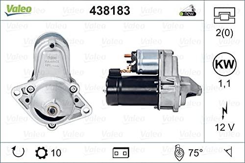 Valeo 438183-VAL Anlasser 438183