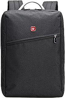 Swissgear Waterproof Simple School Backpack 15.6 inch Swiss Gear Bag - Black , 2725617621254