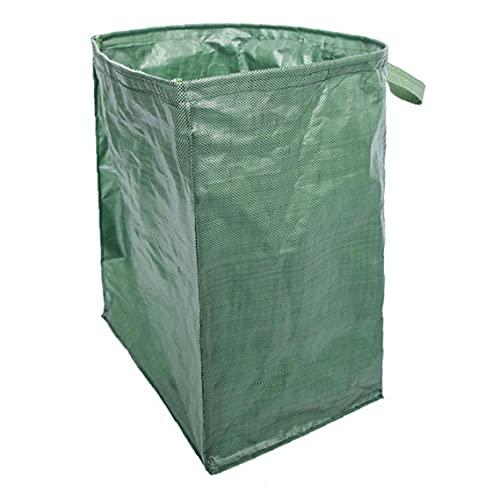 xiaocheng Bolsa jardín Bolsa de residuos Hoja Jardín Cochambrosa Bolsa Reutilizable Escombros Saco Pesado de césped al Aire Libre de residuos Green Collection Duradero