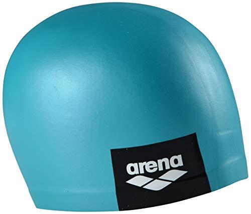 ARENA Unisex – Erwachsene Logo Moulded Swim Cap, Mint Badekappe, Einheitsgröße
