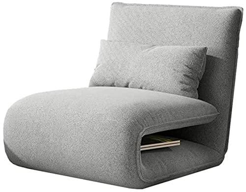 Human Engineering Chair can be Sleepless, Sofa Folding Fabric Lazy Sofa Cushion Game Chair Portable Folding Sofa