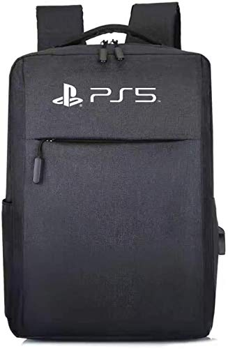 DYCLE Case Bag for PS5,Playstation 5 Host Shell PS4 PS5 Carrying case Storage Bag Waterproof Travel Backpack