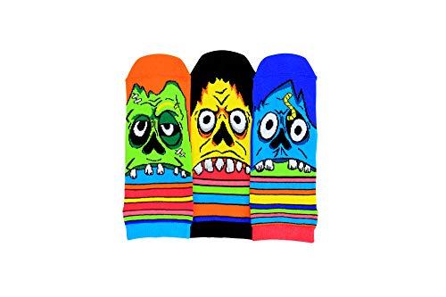 Zombie Füßlinge Oddsocks Socken in 39-46 im 3er Set - Strumpf