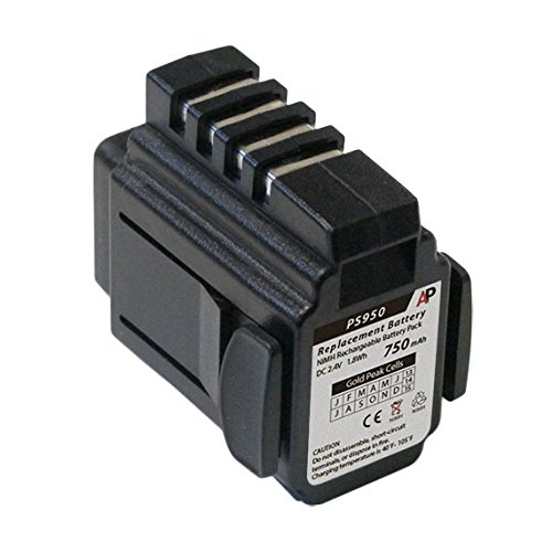 Read About Artisan Power Datalogic/PSC Powerscan RF, PSRF 1000, 959 Scanners: Replacement Battery. 7...
