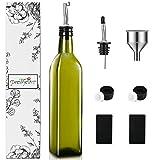 PrettyCare Olive Oil and Vinegar Dispenser Bottles 17oz