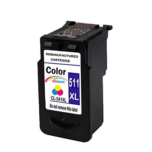 INKMAKE CL511 Rigenerate Cartucce d'inchiostro Sostituzione per Canon CL-511XL Uso per Canon Pixma MP480 MP490 MP495 MX320 MX340 IP2700 IP2702 MP240 MP250 MP270 MP272 MP280 MP330 Stampante ( Colore )