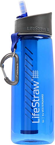 LifeStraw Go Water Bottle 1-Stage with Integrated 1000-Liter...