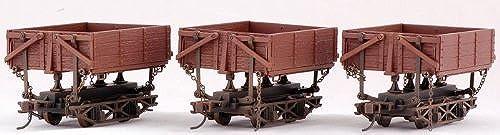 venta con alto descuento On30 Spectrum Wood Side Dump Car (3) (3) (3) by Bachmann Trains  varios tamaños
