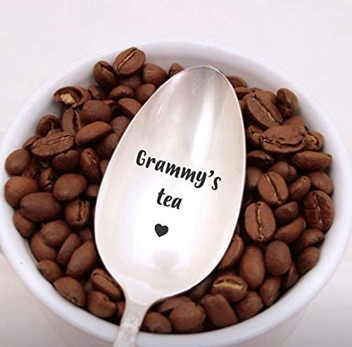 Grammy's Tea Spoon Engraved gift Max 90% OFF ad spoon spoons funny for Baltimore Mall