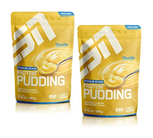 ESN Protein Pudding - Premium Grande (Vanilla (2er Pack))