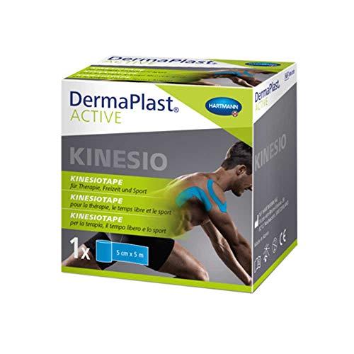 DermaPlast Active Kinesiology Tape Blau, 1 St