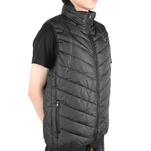 Asixxsix Abrigo con calefacción, Chaleco con calefacción, Chaleco con calefacción Suave con calefacción Inteligente, cálido Hombre Mujer Lavable para Invierno de Ancianos(XXL)